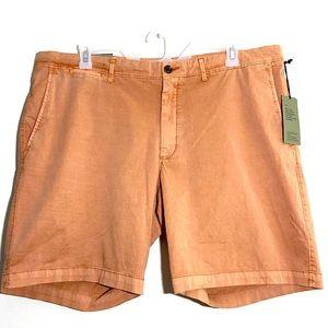 NWT Men's Goodfellow & Co. Peach Flat Front Shorts